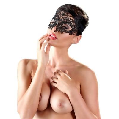 Maschera Ricamata 02 Nero...